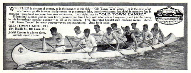Old Town Canoes -1911A