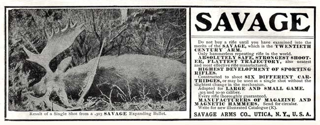 Savage Arms Co. -1900'sA