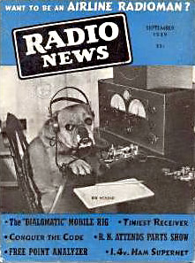 Radio News, a Gernsback popular radio magazine