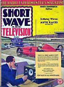 Short Wave and Television 1937-10