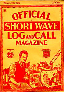 Short Wave Log and Call 1934
