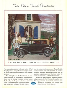 Ford Cars -1931C