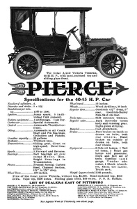 Pierce-Arrow Cars -1906D