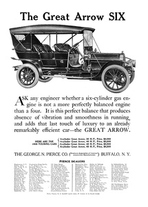 Pierce-Arrow Cars -1908C