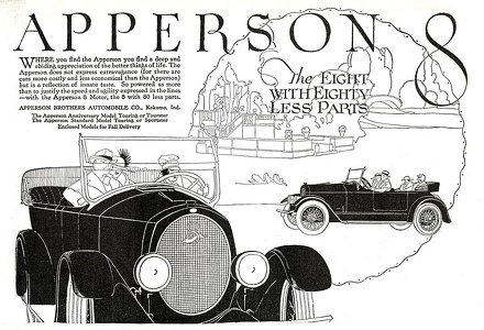 Apperson Cars -1919A