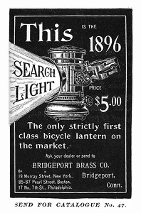 Bridgeport Brass Searchlights -1896A