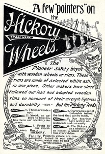 Hickory Wheels -1894A