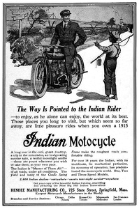 Indian Motorcycles -1915A