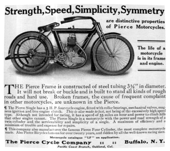 Pierce Motorcycles -1912A