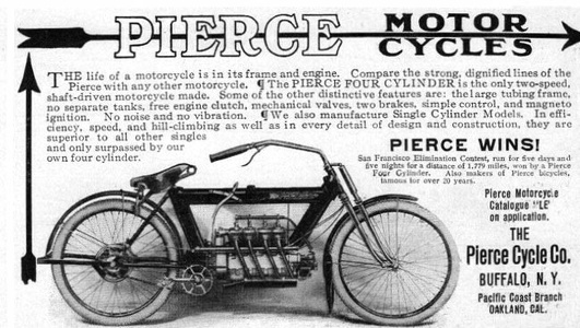 Pierce Motorcycles -1912B