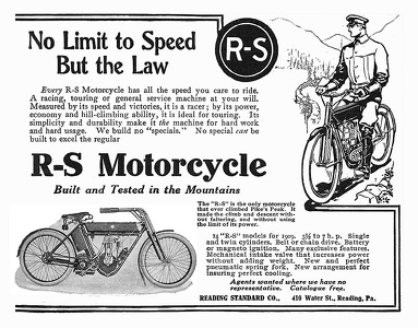 Reading-Standard Motorcycles -1909A