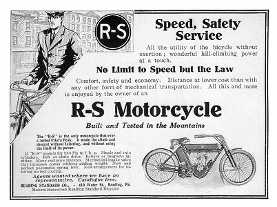 Reading-Standard Motorcycles -1909B
