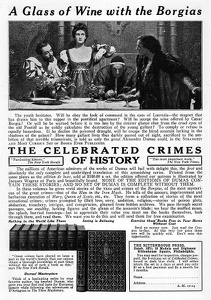 Celebrated Crimes of History -1924A