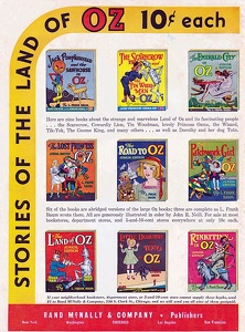 Land of Oz Books -1939A