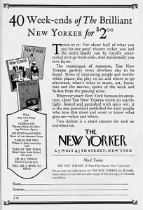 New Yorker -1926A