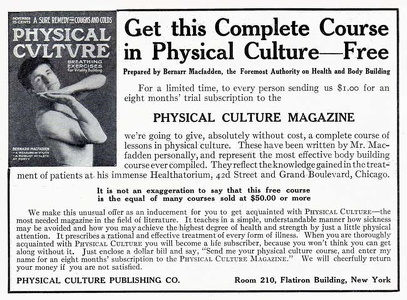 Physical Culture -1911A