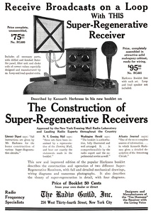 Construction of Super-Regenerative Receivers -1922A