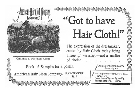 American Hair Cloth Company -1897A