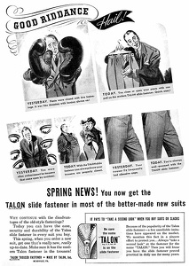Talon Zippers -1939A
