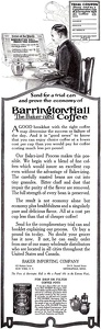 Barrington Hall Coffee -1917A