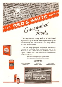 Red and White Stores -1933A