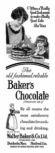 Baker's Chocolate -1924A