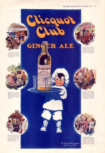 Clicquot Club Ginger Ale -1917A