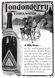 Londonderry Lithia Water -1900'sA