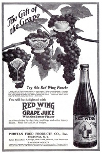 Red Wing Grape Juice -1916B