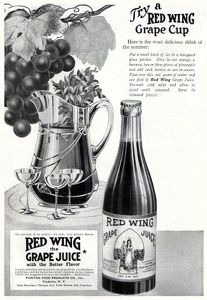 Red Wing Grape Juice -1916A