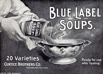 Curtice Brothers Soups -1900'sA