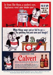 Calvert Whiskey -1943A