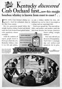 Crab Orchard Bourbon Whiskey -1935A