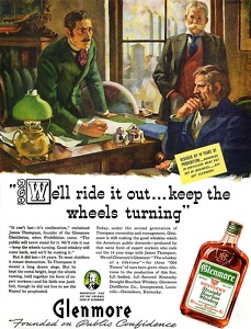 Glenmore Bourbon Whiskey -1938A