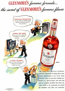 Glenmore Bourbon Whiskey -1943A