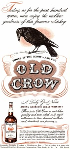Old Crow Bourbon Whiskey -1943A