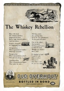 Old Overholt Rye Whiskey -1935A