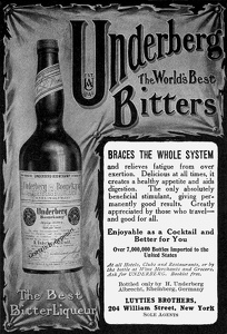 Underberg Bitters -1909A