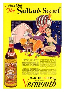 Martini and Rossi Vermouth -1927A