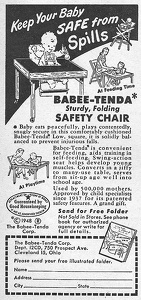 Babee-Tenda Safety Chair -1948A