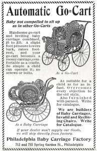 Go-Cart Baby Carriage -1900A