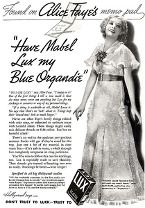 Lux Laundry Soap -1935A