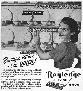 Royaledge Shelving Paper -1947A