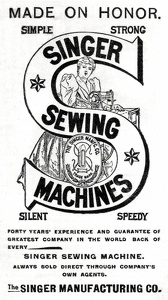 Singer Sewing Machines -1896A