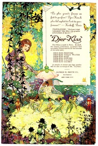 Djer-Kiss Toiletries -1906