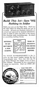 Elgin Radio Kits -1925A