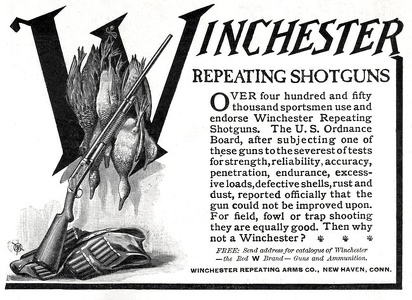 Winchester Repeating Shotguns -1908A