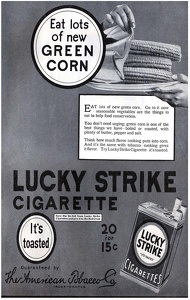 Lucky Strike Cigarettes -1918A