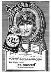 Lucky Strike Cigarettes -1928B