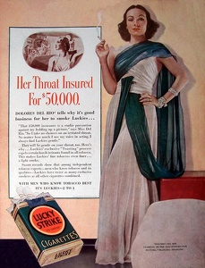 Lucky Strike Cigarettes -1938A